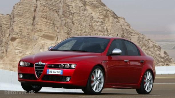 Ny benzinmotor til Alfa 159