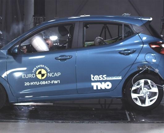 Hyundai i10 skuffer i seneste crashtest