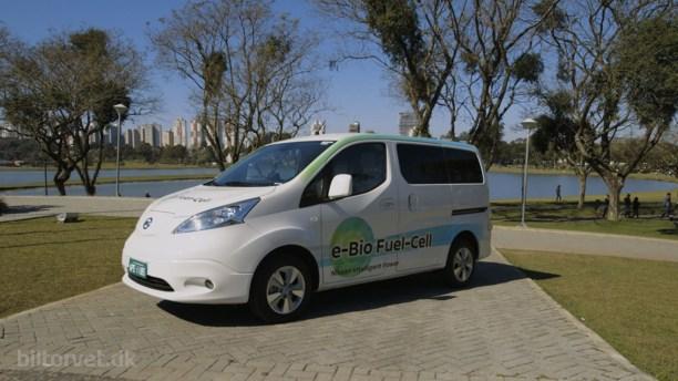 Nissan tester bil med e-bio-brændselscelle