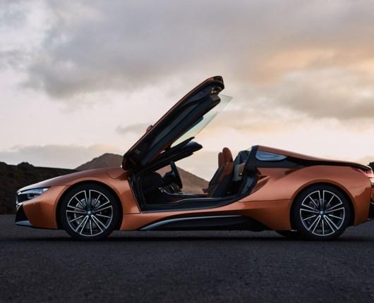 Ny BMW i8 roadster!