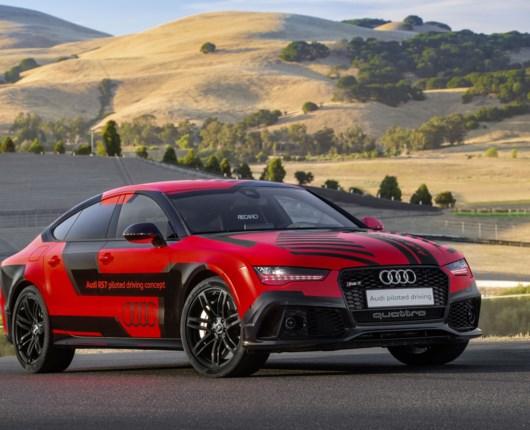 Føreløs Audi imponerer