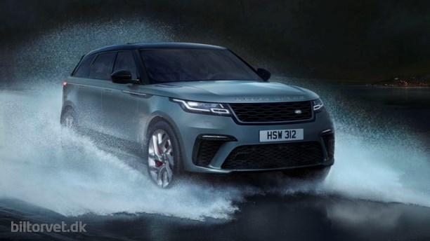 Sportsvogn til mudderhullet – Range Rover Velar SV Dynamic Edition