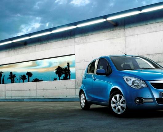 Ny Opel Agila