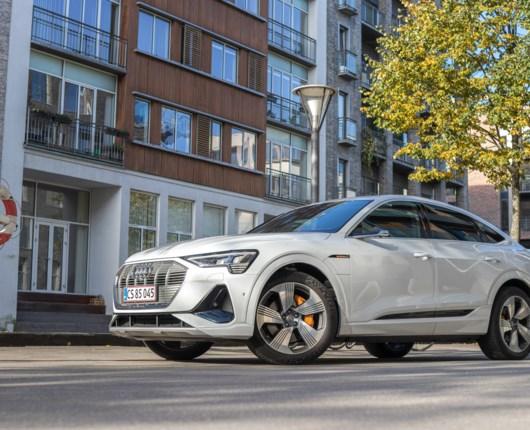 Audi E-tron Sportback - en stærkstrøm af luksus