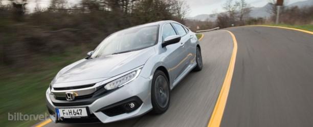 Honda Civic diesel – økologisk køreglæde