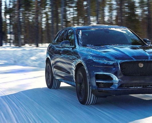Har du is i blodet? Så test Ice Driving Academy med Jaguar