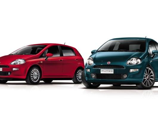 Lille facelift og stærke priser på Fiat Punto