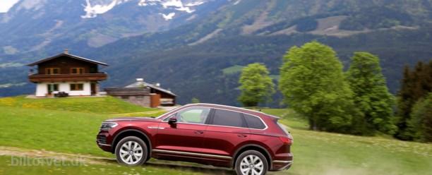 Mod toppen – Volkswagen Touareg
