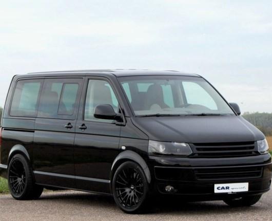 Fars fede ferie – VW Multivan med 580 hk