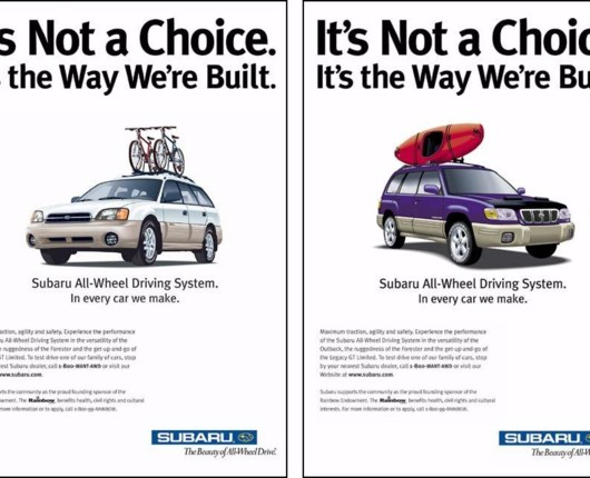 Subaru – en bil til regnbuefamilier