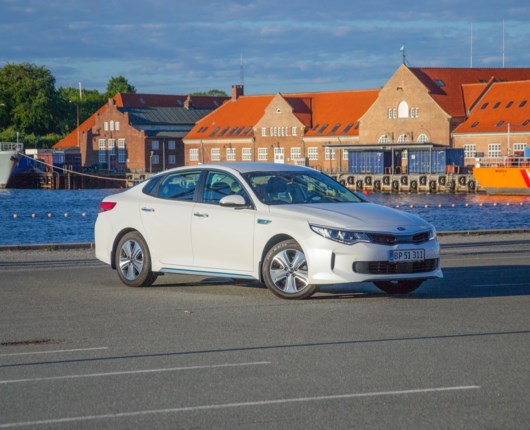 Grøn fornuft – Kia Optima Plug-In Hybrid