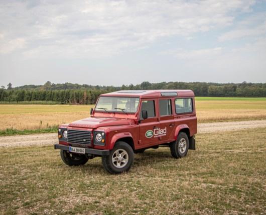 Gammel kærlighed ruster ikke - brugttest af Land Rover Defender