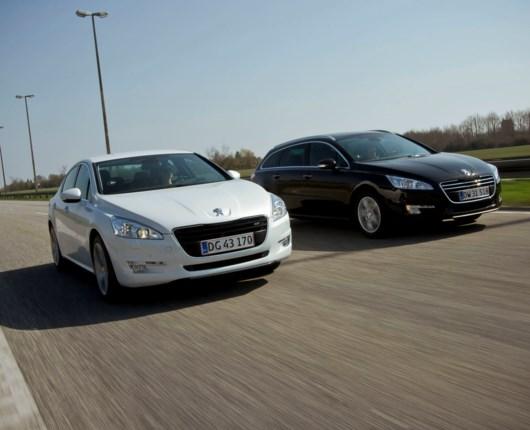 Peugeot 508 og EuroNCAP