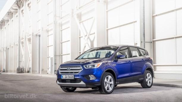 Større facelift til Ford Kuga - og masser af udstyr!