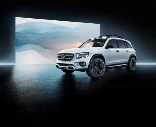 Mercedes nye hit? En mini G-Klasse med plads til syv