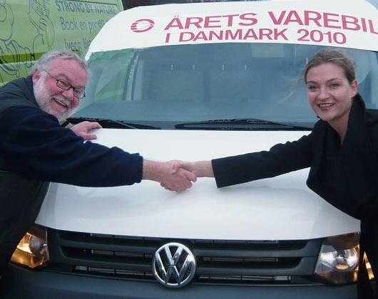 VW Transporter - Årets Varebil i Danmark