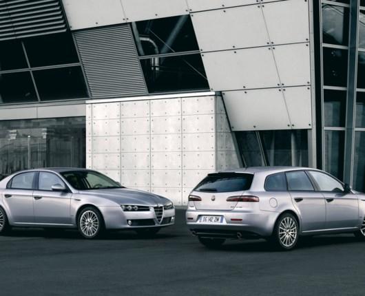 Nyt facelift til Alfa 159