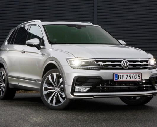 Sprøde motorer til den nye VW Tiguan