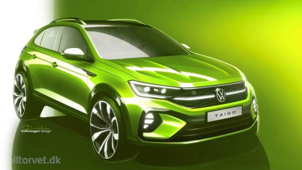 Volkswagen introducerer sporty SUV-coupé med brasilianske aner