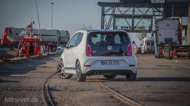 Ballade i børnehaven – Volkswagen Up GTI