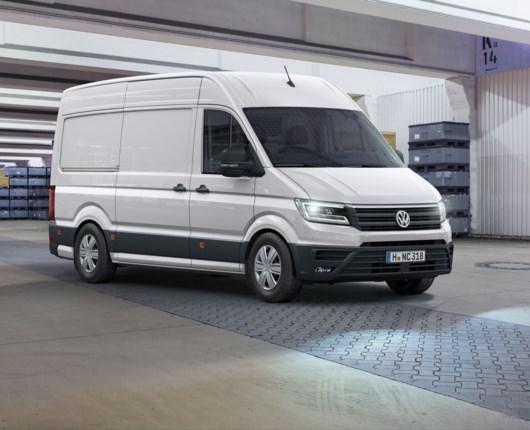 Ny VW Crafter klar til de danske håndværkere