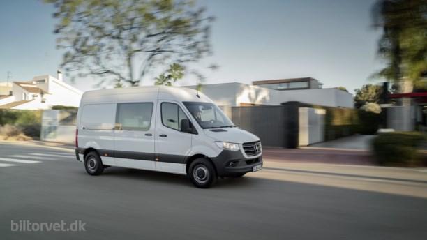 Tysk kassesucces – her er den nye Mercedes Sprinter
