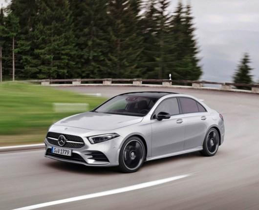 Den glatteste Mercedes – A-Klasse sedan