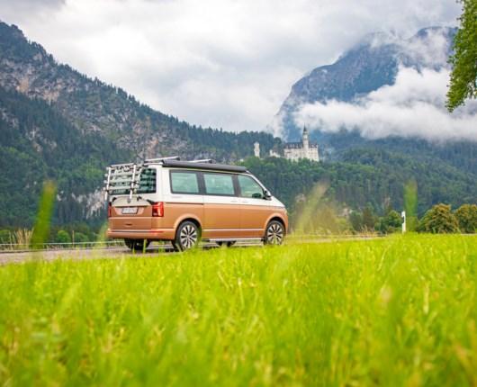 Råbende tyskere: Romantik i VW California