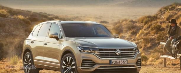 Den tyske Range Rover – her er den nye Volkswagen Touareg