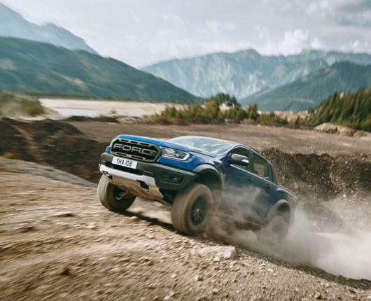Operation Desert Storm kommer til Danmark - Ford Ranger Raptor