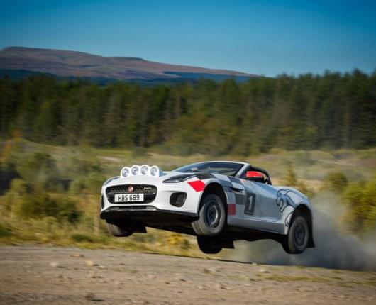 Den flyvende Jaguar – F-Type som rallybil
