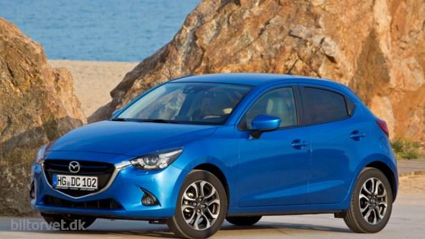 Mazda 2 klar til april