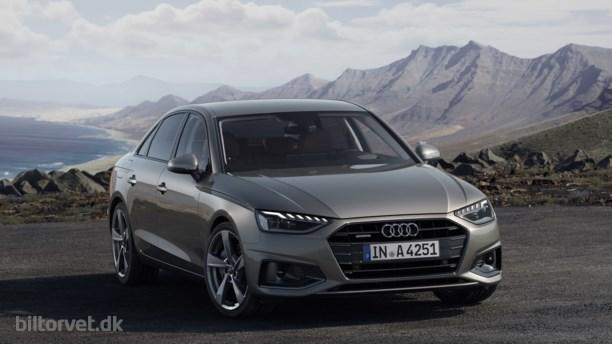Med på den grønne bølge – her er den nye Audi A4