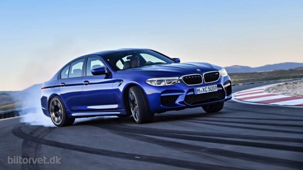 Nu kommer den endelig -  Ny BMW M5!
