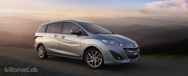 Ny Mazda 5 vises i Geneve