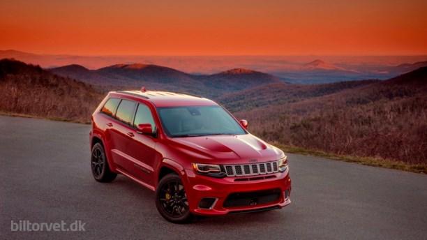 Verdens hurtigste SUV - Jeep Grand Cherokee Trackhawk
