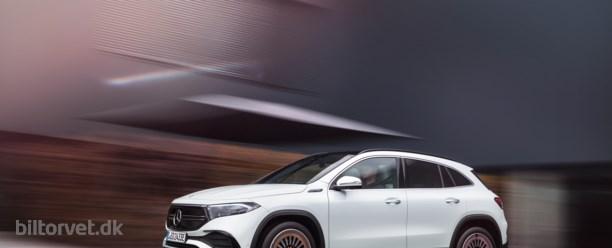 Mercedes elektriske crossover får over 500 km rækkevidde
