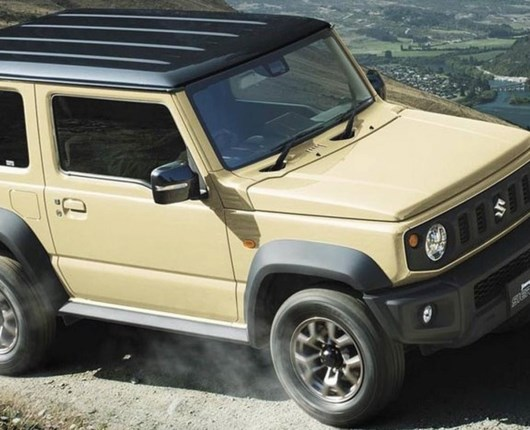 Bjergged bevarer charmen – her er den nye Suzuki Jimny