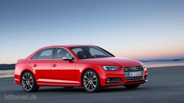 Ny Audi S4 på IAA