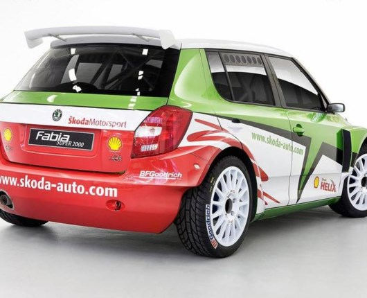 Skoda til Rally Monte Carlo