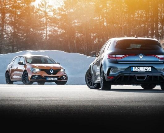 Vi ryster med røven i Renault Megane RS