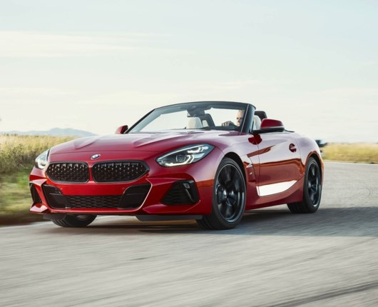 Første glimt af BMW's nye lækre sportsvogn – BMW Z4