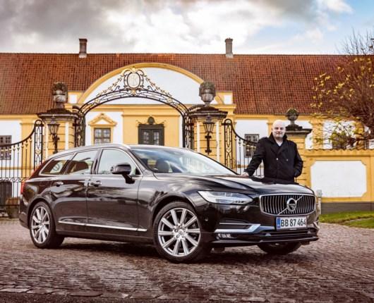 Volvo helt i top med ny V90 T5