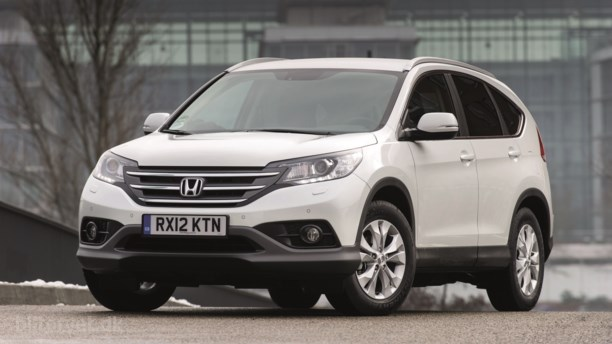 5 stjerner til Honda CR-V