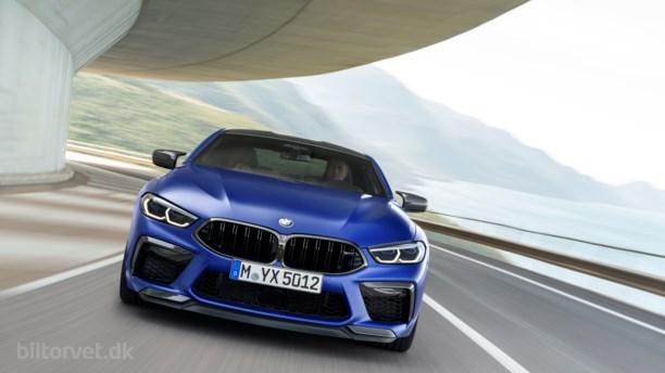 BMW's valkyrieridt – her er den nye M8 med 625 hestekræfter