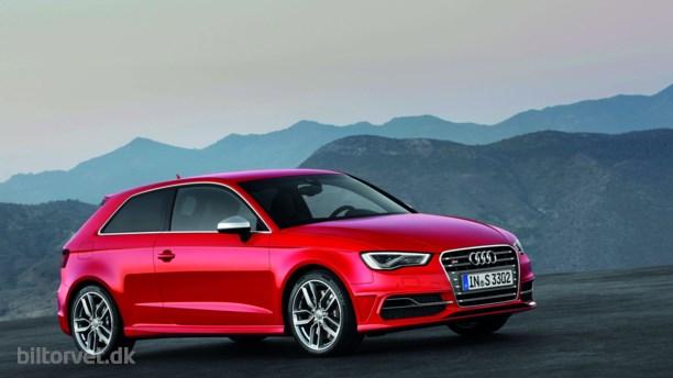 Audi løfter sløret for 300 hk S3