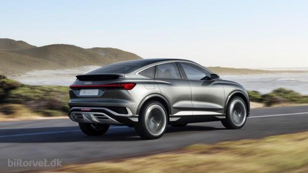 Elektrisk coupé på stylter - Audi Q4 Sportback e-tron concept