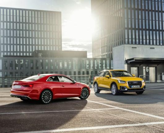 Maksimum point til ny Audi A5 og Q2 hos EuroNCAP