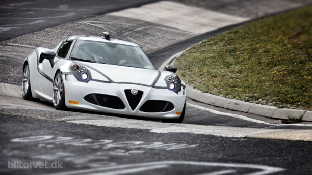 Alfa Romeo 4C på Nürnburgring