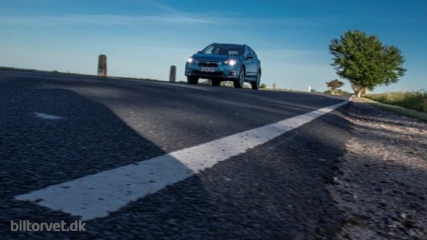 Gnister i kassen vækker hybrid Subaru XV